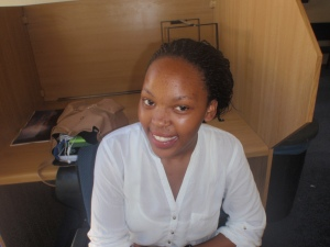 "SIVE MANELI ""Stay on campus until you're done with work or until load shedding ends."""