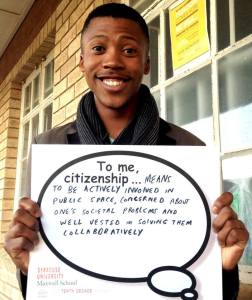 Sanele Ntshingana is an avid reader whose is fascinated by politics and the world of science. Photo Sourced.
