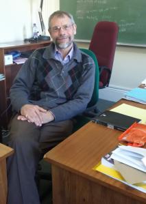 Mr Nigel Bishop, Mathematics HOD at Rhodes University. Photo by Yolanda Mzimela.